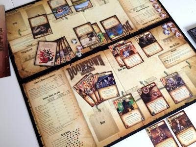 Doomtown Reloaded Card Game Review Setup